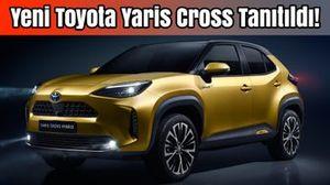 Yeni Toyota Yaris Cross Tanıtıldı!   İlk Bakış