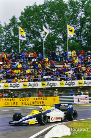 Nigel Mansell, Williams FW10 Honda