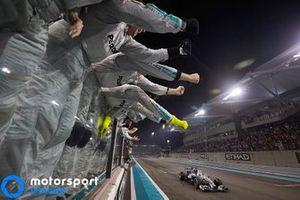 2014 Abu Dhabi GP, Lewis Hamilton, Mercedes AMG