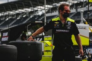 Simon Pagenaud, Team Penske Chevrolet, Samuel Emery