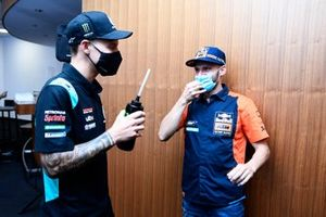 Brad Binder, Red Bull KTM Factory Racing, Fabio Quartararo, Petronas Yamaha SRT