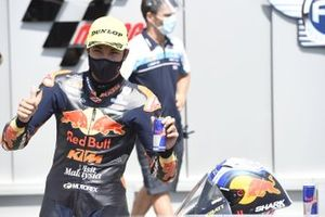 Polesitter Raul Fernandez, Red Bull KTM Ajo