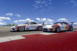 Bertonelli, Fumanelli, Porsche Esports Carrera Cup Italia Prologo 2020