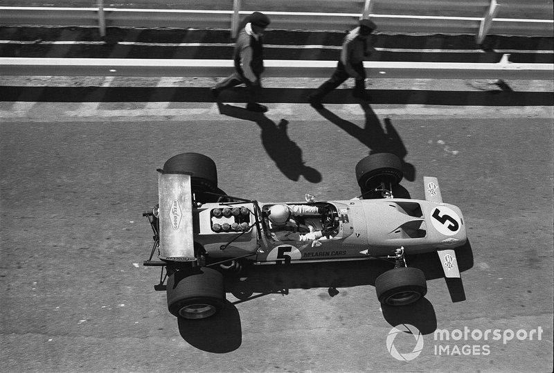 Bruce McLaren, McLaren M14A-Ford, 1970 South Africa GP