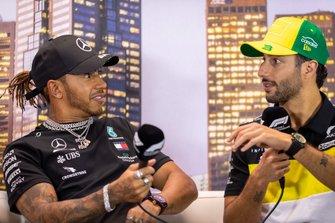 Lewis Hamilton & Daniel Ricciardo