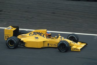Martin Donnelly, Lotus 102 Lamborghini, al GP del Messico del 1990
