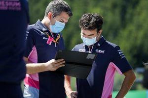 Sergio Perez, Racing Point cammina in pista
