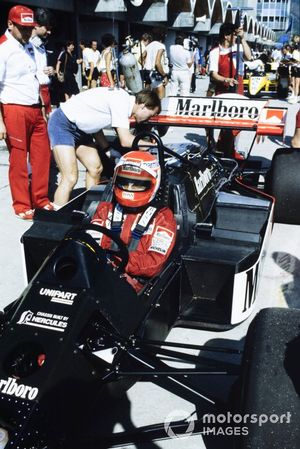Niki Lauda, McLaren MP4-2 TAG