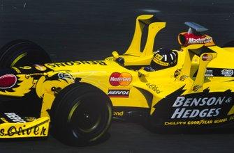 Damon Hill, Jordan 198 Mugen-Honda