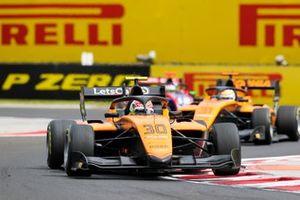 Alessio Deledda, Campos Racing, leads Sophia Floersch, Campos Racing