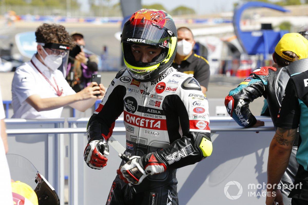 Ganador Tatsuki Suzuki, SIC58 Squadra Corse