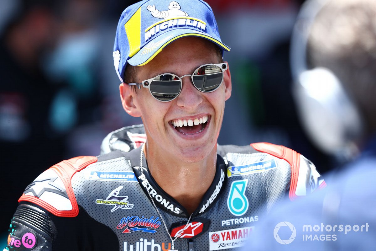 Ganador Fabio Quartararo, Petronas Yamaha SRT