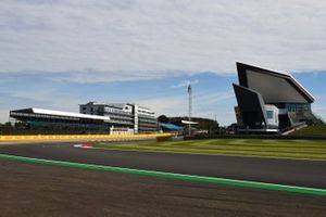 A view of the Silverstone circuit
