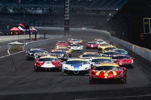 Partenza del Trofeo Pirelli