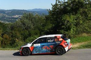 Luca Bottarelli, Walter Pasini, ASD New Turbomark Rally Team, Skoda Fabia R5