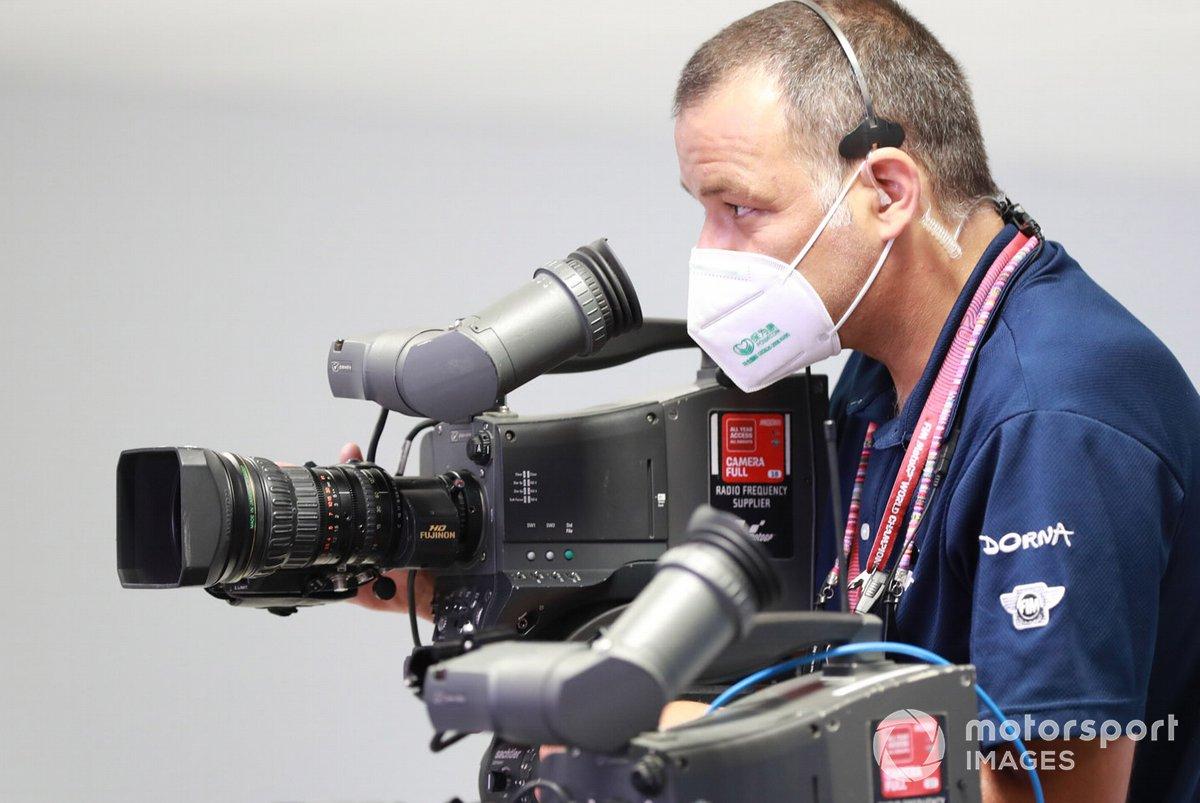 Dorna camarógrafo