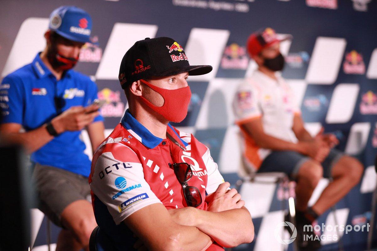 Jack Miller, Pramac Racing, en la conferencia de prensa