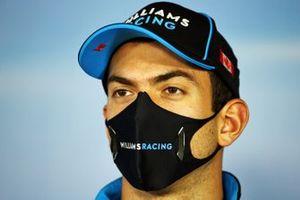 Nicholas Latifi, Williams Racing in conferenza stampa