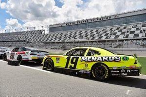 Riley Herbst, Joe Gibbs Racing, Toyota Supra Monster Energy, Brandon Jones, Joe Gibbs Racing, Toyota Supra Menards/Inspire