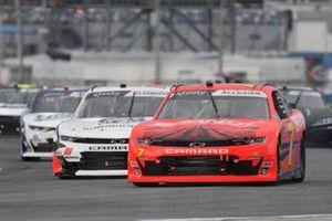 Justin Allgaier, JR Motorsports, Chevrolet Camaro BRANDT, Jeremy Clements, Jeremy Clements Racing, Chevrolet Camaro All South Electric