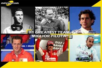 Cover F1 Greatest Team Miglior Pilota