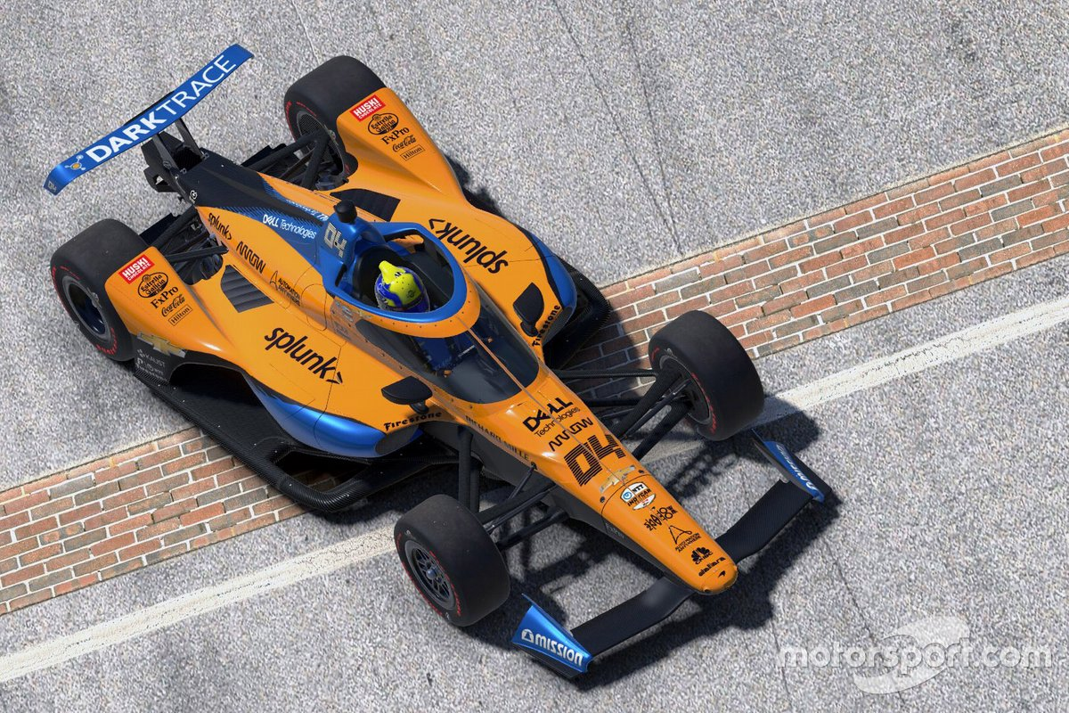 Lando Norris, Arrow McLaren SP