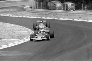 Jochen Rindt, Lotus 72C Ford, Brian Redman, De Tomaso 308 Ford