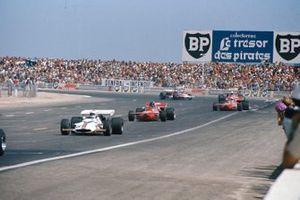 Howden Ganley, BRM P160, Andrea de Adamich, March 711 Alfa Romeo, Alex Soler-Roig, March 711 Ford, GP di Francia del 1971