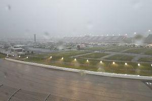Rain in Darlington