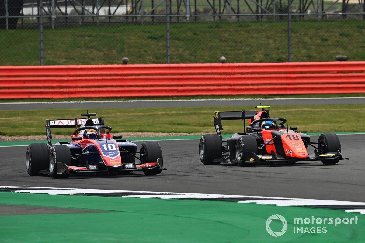 Lirim Zendeli, Trident, y Bent Viscaal, MP Motorsport