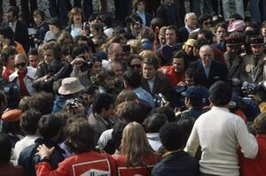 Yarış galibi Jackie StewartTyrrell