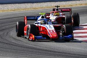 Robert Shwartzman, Prema Racing, leads Mick Schumacher, Prema Racing