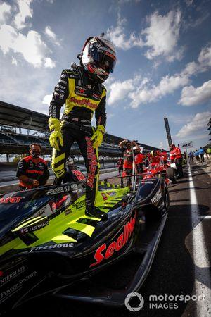 Santino Ferrucci, Dale Coyne Racing with Vasser Sullivan Honda;