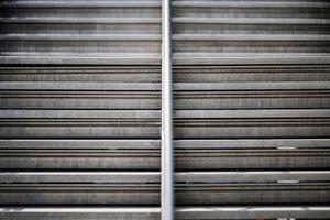 Empty grandstands