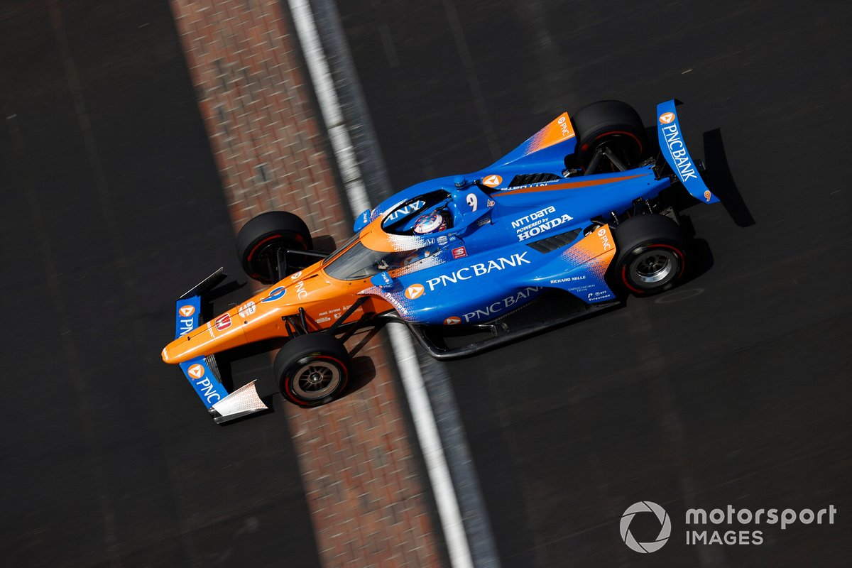2º Scott Dixon, Chip Ganassi Racing - Honda