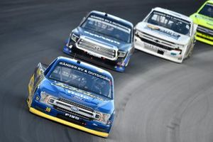 Todd Gilliland, Front Row Motorsports, Ford F-150 Speedco, Raphael Lessard, Kyle Busch Motorsports, Toyota Tundra SiriusXM