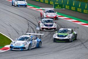 Roar Lindland, Pierre martinet by Almeras, Phillip Sager, Dinamic Motorsport e Matteo Llarena, MRS GT-Racing