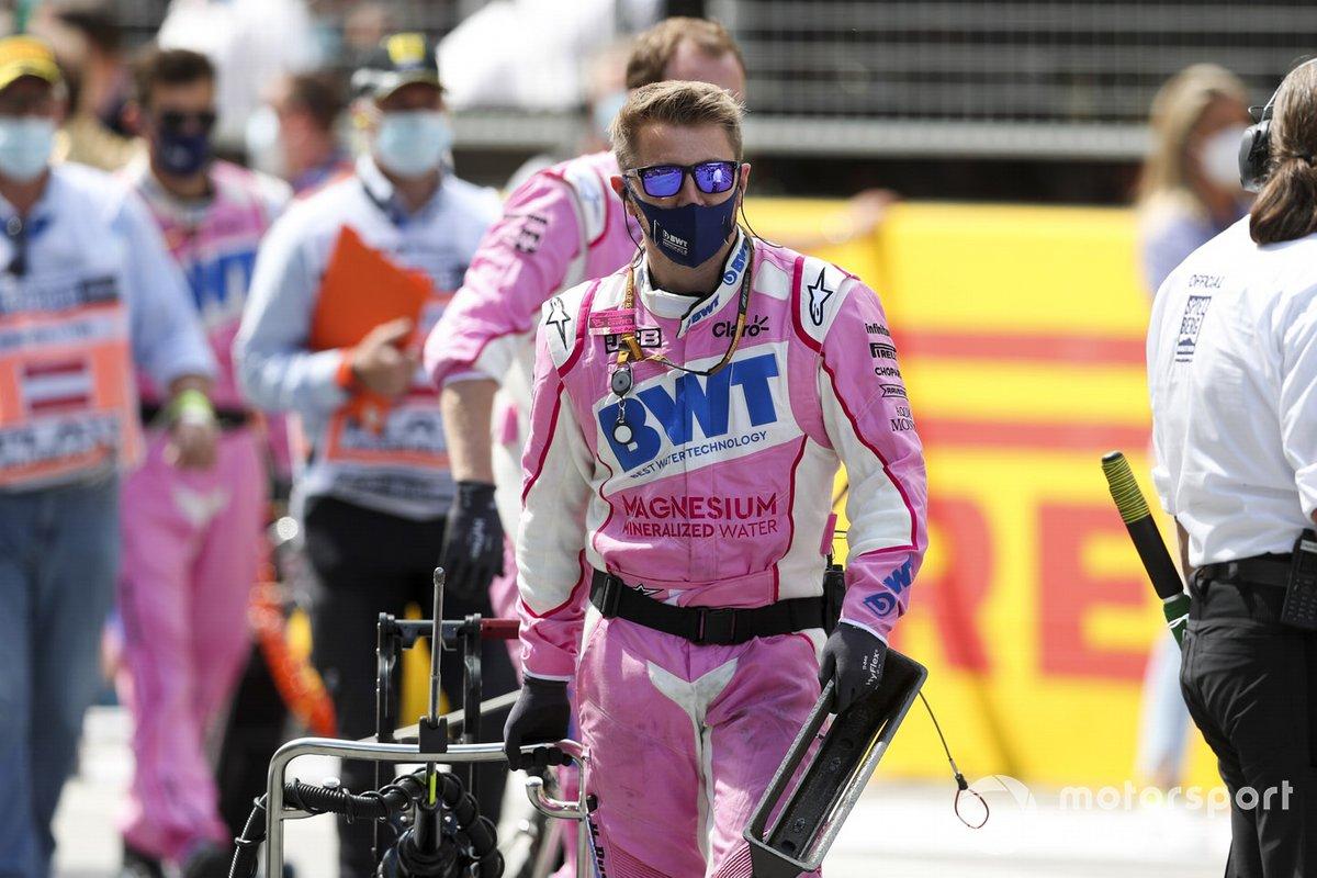 Mecánicos de Racing Point