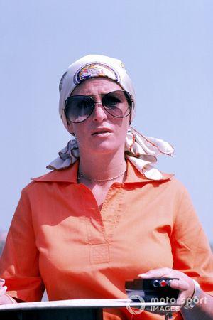 Pam Scheckter, wife of Jody Scheckter