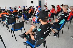 MotoGP, Moto2 and Moto3 riders briefing