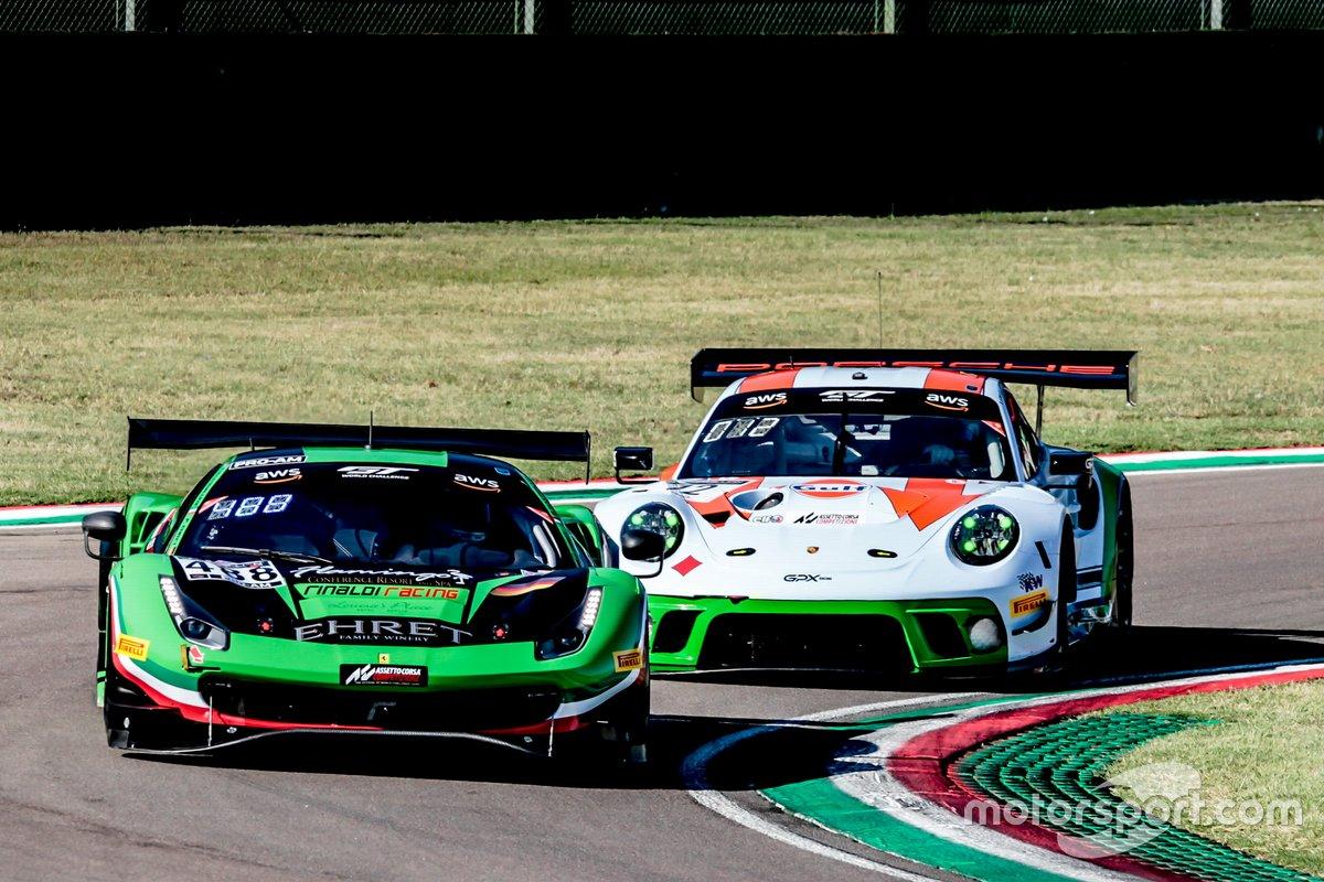 #488 Rinaldi Racing Ferrari 488 GT3: Pierre Ehret, Rino Mastronardi, Daniel Keilwitz