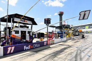 Boxenplatz: Denny Hamlin, Joe Gibbs Racing