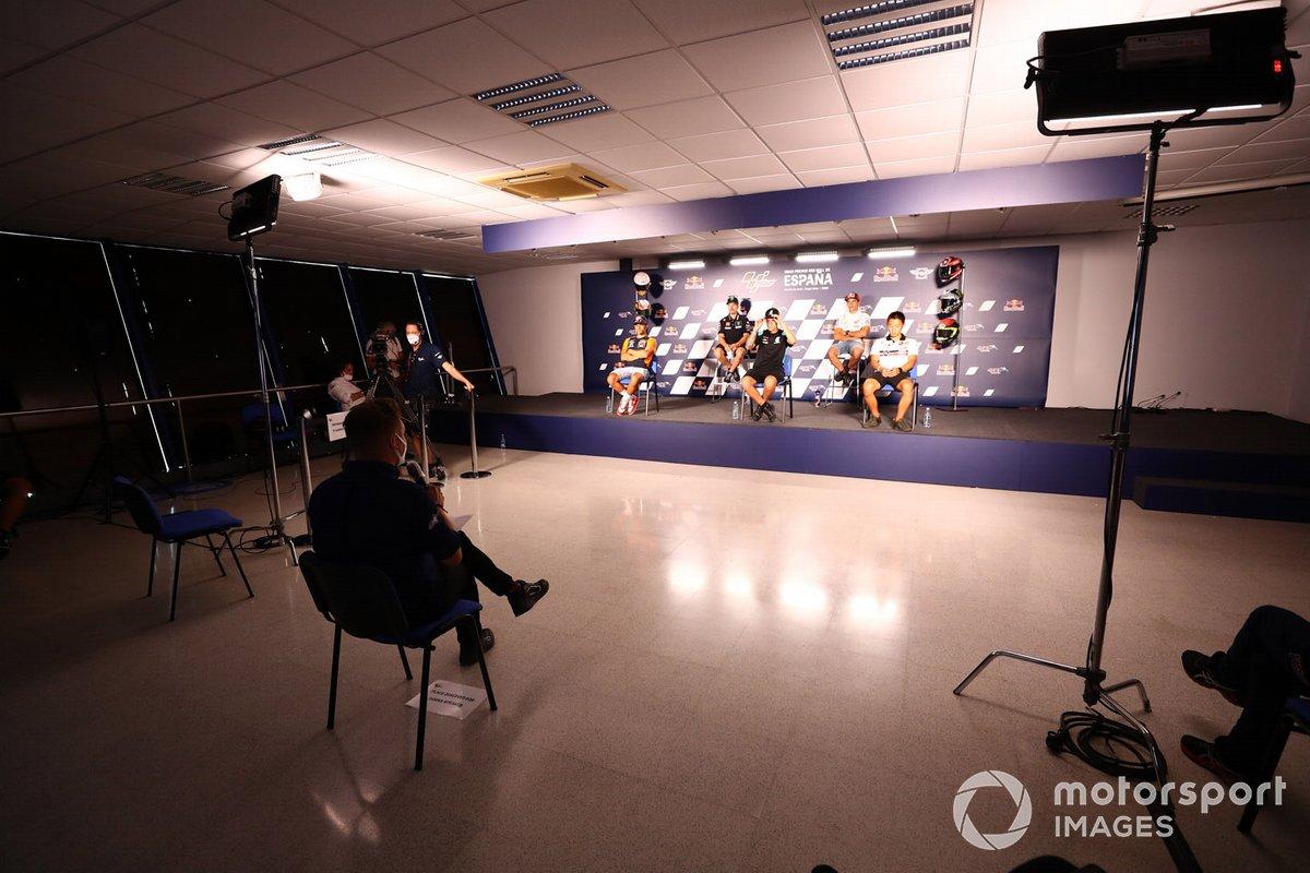 Conferencia de prensa de MotoGP