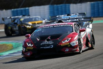#143 Huracan Super Trofeo Evo, Prestige Performance: Ashton Harrison, Stephanie Cemo