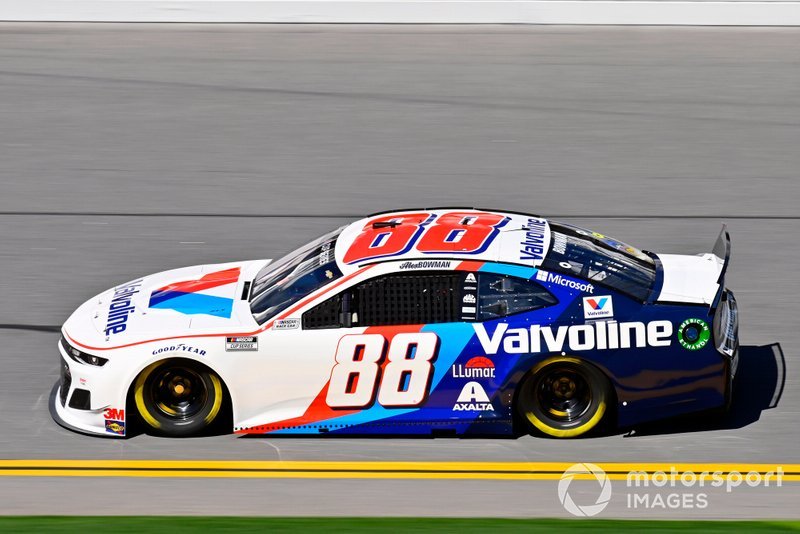 2. Alex Bowman, Hendrick Motorsports, Chevrolet Camaro