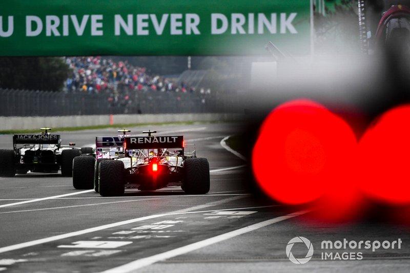 Kevin Magnussen, Haas F1 Team VF-19, Lance Stroll, Racing Point RP19, Daniel Ricciardo, Renault F1 Team R.S.19