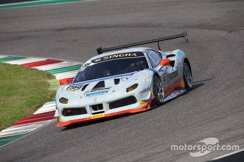 #199 Ferrari 488 Challenge, Scuderia Autoropa: Ingvar Mattson