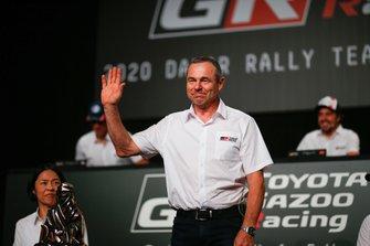 Glynn Hall, team principal Toyota Gazoo Racing
