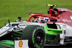 Antonio Giovinazzi, Alfa Romeo Racing with aero paint