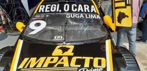 Carro de Guga Lima em Interlagos